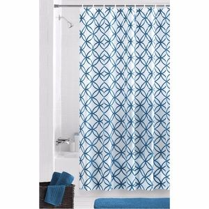 Mainstays Bath - Plastic shower curtain with rings